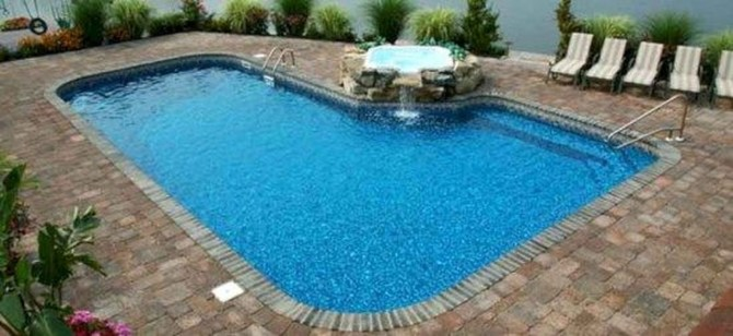 The Best Swimming Pool Design Ideas For Summer Time 22
