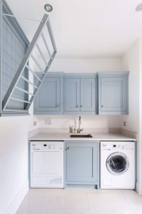 Wonderful Laundry Room Decorating Ideas For Small Space 06