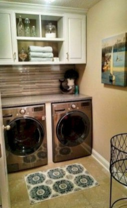 Wonderful Laundry Room Decorating Ideas For Small Space 08