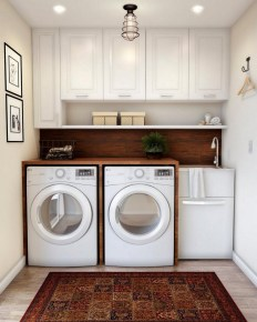 Wonderful Laundry Room Decorating Ideas For Small Space 10