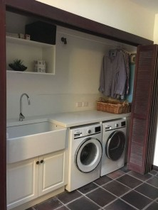 Wonderful Laundry Room Decorating Ideas For Small Space 28
