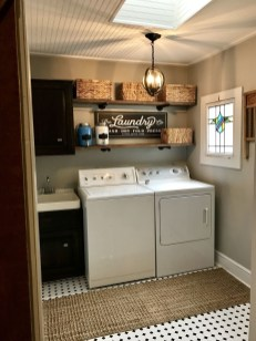 Wonderful Laundry Room Decorating Ideas For Small Space 40
