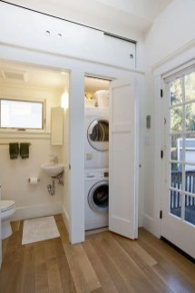 Wonderful Laundry Room Decorating Ideas For Small Space 43