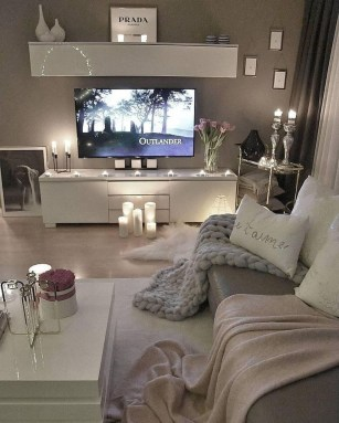 Affordable Decoration Ideas For Small Apartment 07
