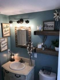 Amazing Bathroom Decor Ideas With Farmhouse Style 01