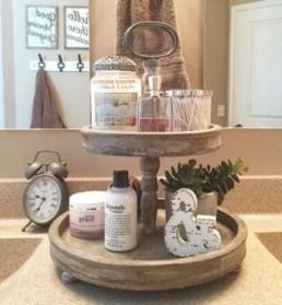 Amazing Bathroom Decor Ideas With Farmhouse Style 05