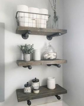 Amazing Bathroom Decor Ideas With Farmhouse Style 25
