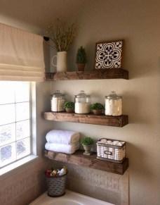 Amazing Bathroom Decor Ideas With Farmhouse Style 39