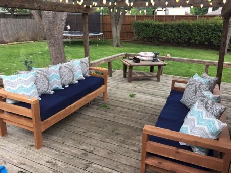 Best DIY Outdoor Furniture Ideas You Can Put In Garden 31