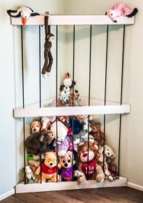 Brilliant Toy Storage Ideas For Small Space 04