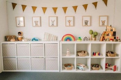 Brilliant Toy Storage Ideas For Small Space 26