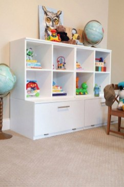 Brilliant Toy Storage Ideas For Small Space 39