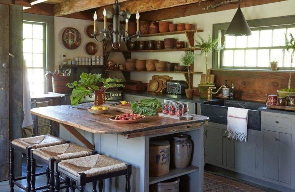 Fabulous Rustic Kitchen Decoration Ideas 03