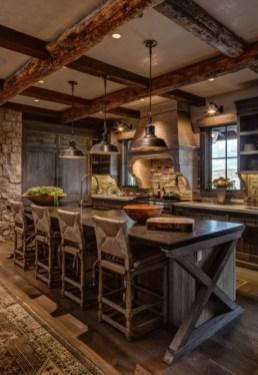 Fabulous Rustic Kitchen Decoration Ideas 20
