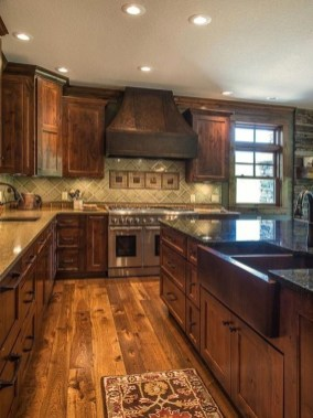 Fabulous Rustic Kitchen Decoration Ideas 39