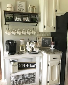 Fantastic DIY Coffee Bar Ideas For Your Home 10