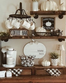 Fantastic DIY Coffee Bar Ideas For Your Home 17