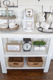 Fantastic DIY Coffee Bar Ideas For Your Home 19