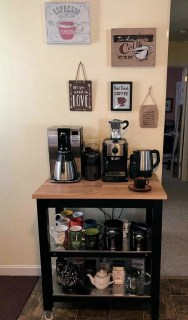 Fantastic DIY Coffee Bar Ideas For Your Home 39
