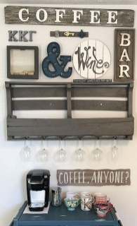 Fantastic DIY Coffee Bar Ideas For Your Home 40