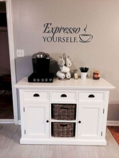 Fantastic DIY Coffee Bar Ideas For Your Home 41