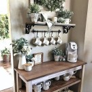 Fantastic DIY Coffee Bar Ideas For Your Home 43