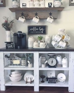 Fantastic DIY Coffee Bar Ideas For Your Home 46