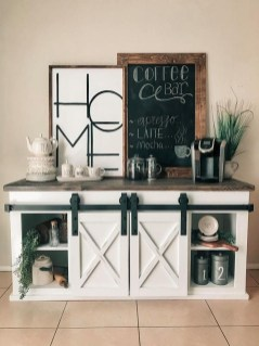 Fantastic DIY Coffee Bar Ideas For Your Home 50