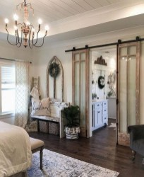 Gorgeous Farmhouse Bedroom Remodel Ideas On A Budget 20