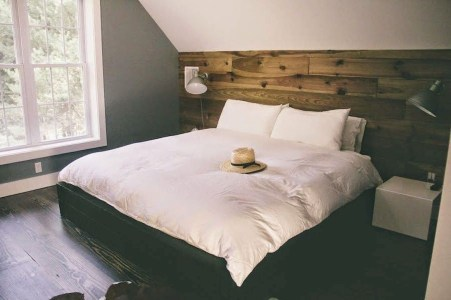 Modern Rustic Master Bedroom Design Ideas 20