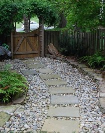 Newest Stepping Stone Pathway Ideas For Your Garden 02