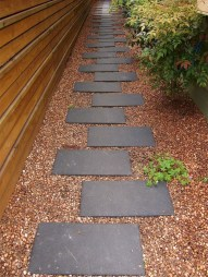 Newest Stepping Stone Pathway Ideas For Your Garden 19