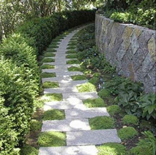 Newest Stepping Stone Pathway Ideas For Your Garden 23
