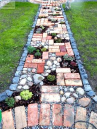 Newest Stepping Stone Pathway Ideas For Your Garden 40