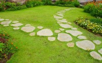 Newest Stepping Stone Pathway Ideas For Your Garden 47