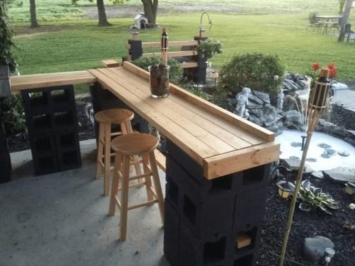 Unusual DIY Outdoor Bar Ideas On A Budget 06
