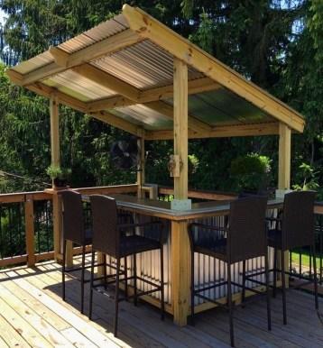 Unusual DIY Outdoor Bar Ideas On A Budget 08