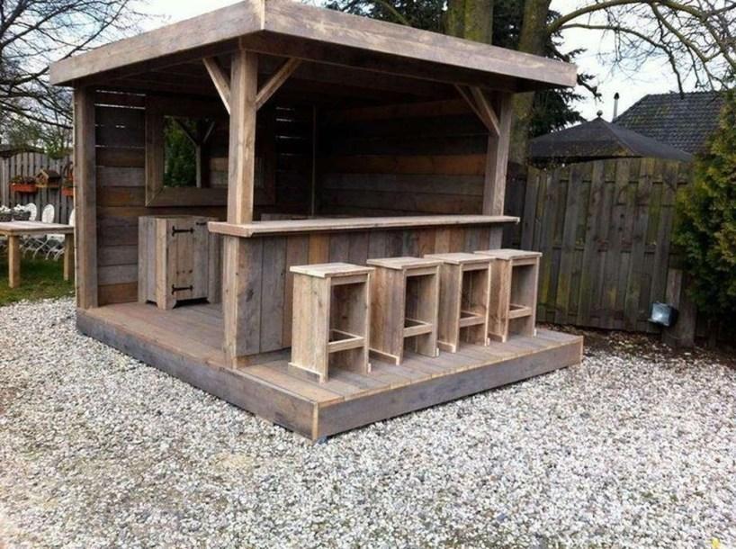 Unusual DIY Outdoor Bar Ideas On A Budget 16