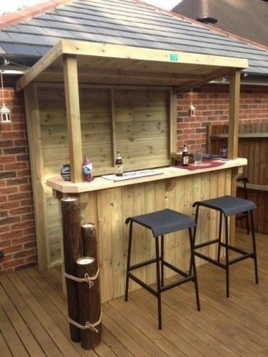 Unusual DIY Outdoor Bar Ideas On A Budget 33