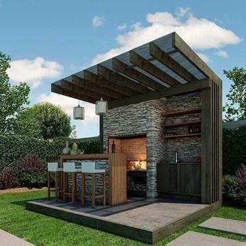 Unusual DIY Outdoor Bar Ideas On A Budget 47