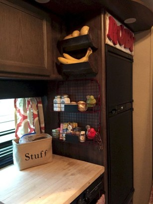 Best RV Kitchen Storage Ideas For Cozy Cook When The Camping 06