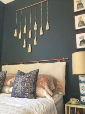 Creative DIY Bedroom Headboard To Make It More Comfortable 08