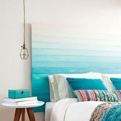Creative DIY Bedroom Headboard To Make It More Comfortable 18