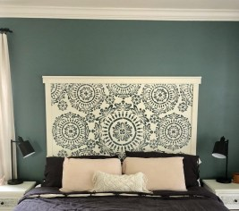 Creative DIY Bedroom Headboard To Make It More Comfortable 21
