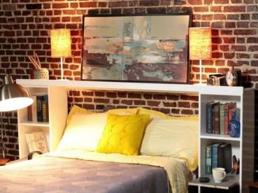 Creative DIY Bedroom Headboard To Make It More Comfortable 31