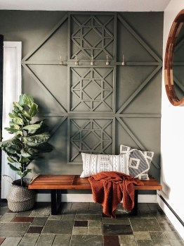 Luxurious DIY Accent Wall Interior Ideas For Inspiration 22