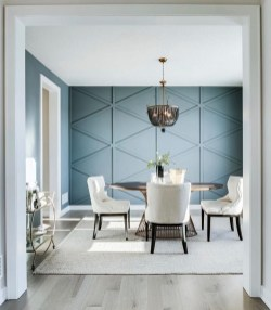 Luxurious DIY Accent Wall Interior Ideas For Inspiration 46