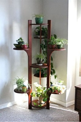 Popular Indoor Plant Stands Ideas For Fresh Home Inspiration 27