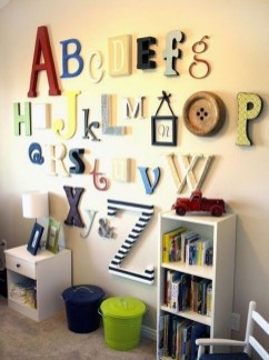 Awesome Child's Room Ideas With Wall Decoration 05