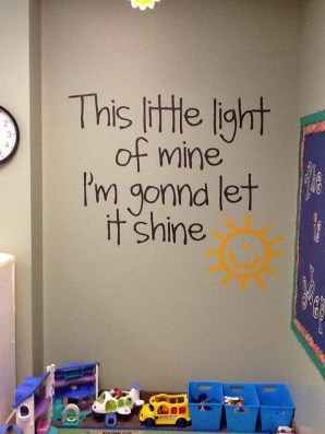 Awesome Child's Room Ideas With Wall Decoration 24